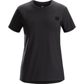 Arc'teryx A Squared Naiset Lyhythihainen paita , musta